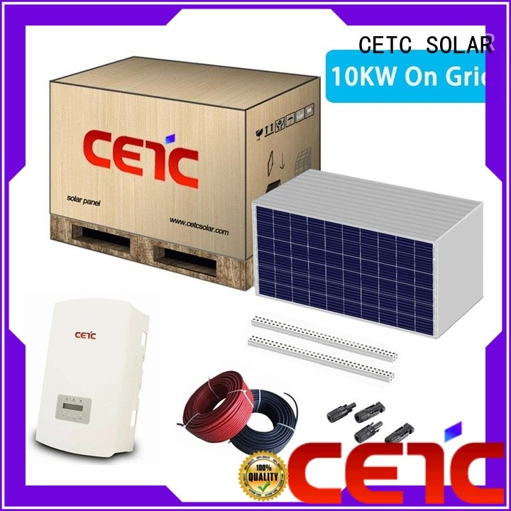 CETC SOLAR on grid solar system suppliers for lighting