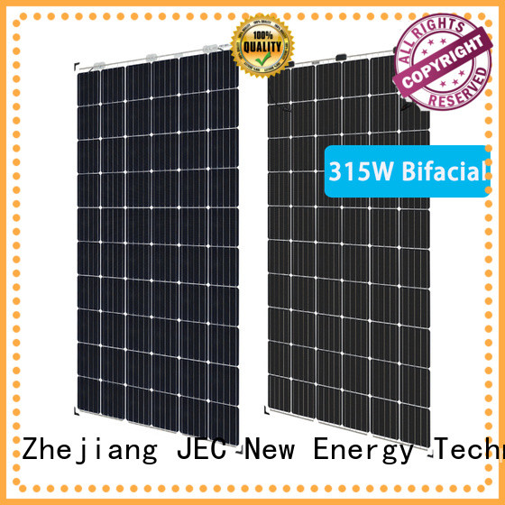 high-quality bifacial solar panels install for business