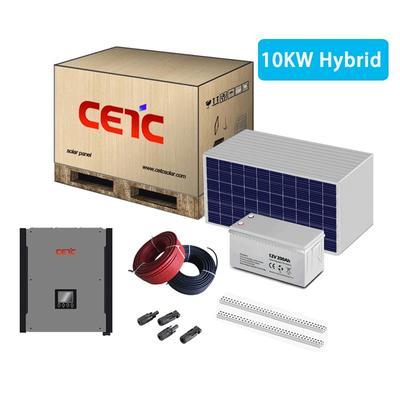 10KW hybrid inverter solar energy system complete set kit