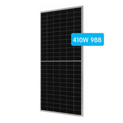 Mono half cut cell solar panel 390-410W 144cells with high efficiency