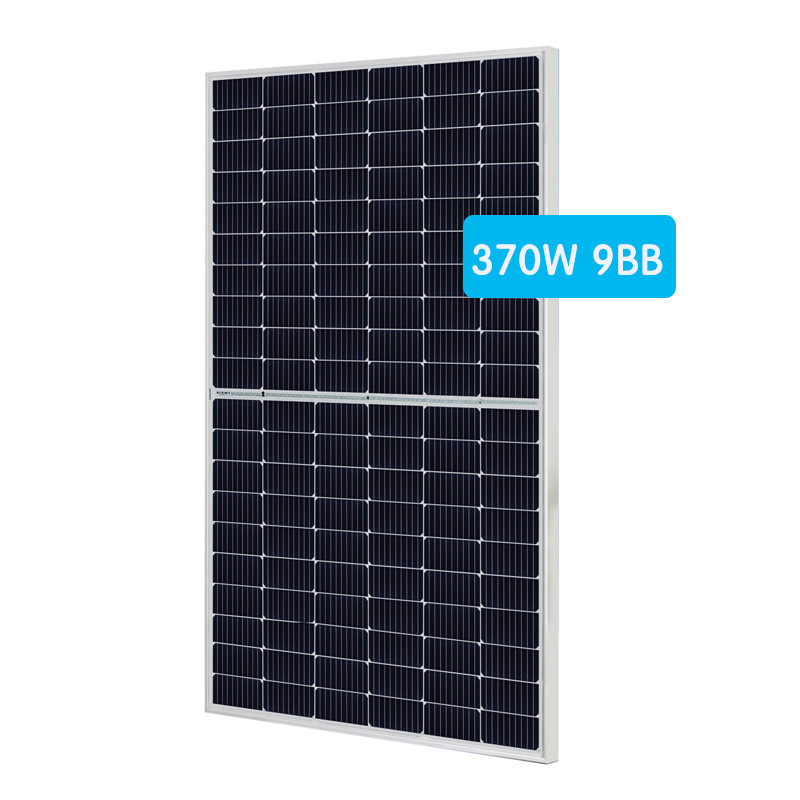 Mono photovoltaic half cell panel 355-375W 120cells A class