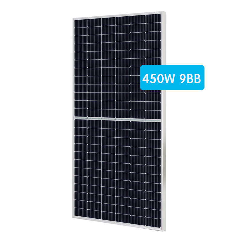 Good Quality Mono Half Cell Panel 430-450W by 166mm 144pcs cells
