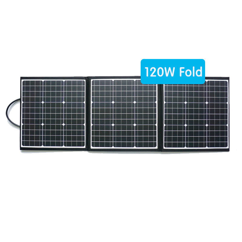 120w fabric portable PV panel suitable for camping