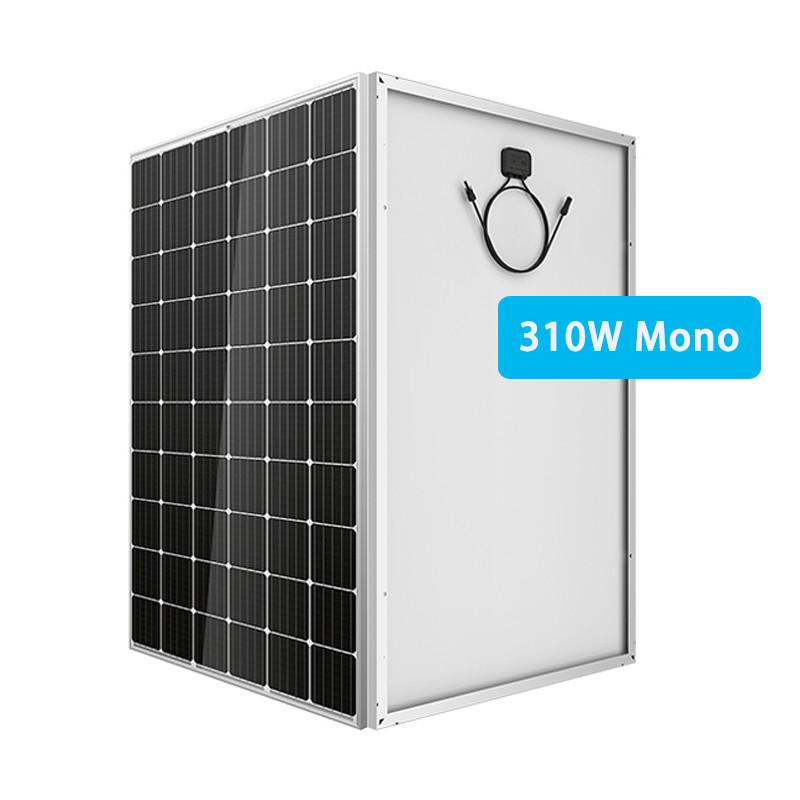 310W mono solar panel home install roof low price