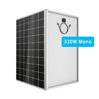 320W monocrystalline solar panel with warranty from China
