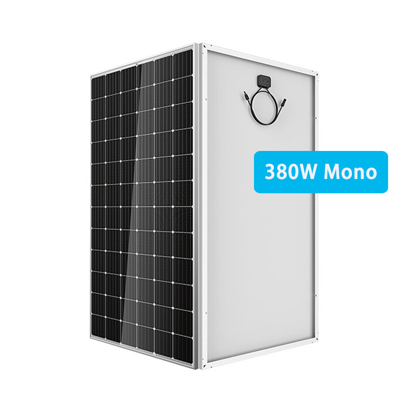 380W mono solar panel 72 mono PV module manufacture