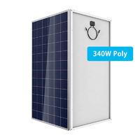 340 watt perc poly solar panel lowest price chinese poli