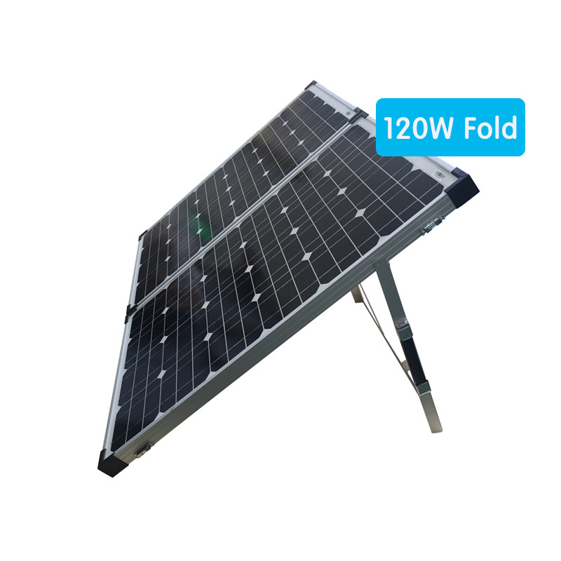 120W folding solar panel with 36 cells factory directly