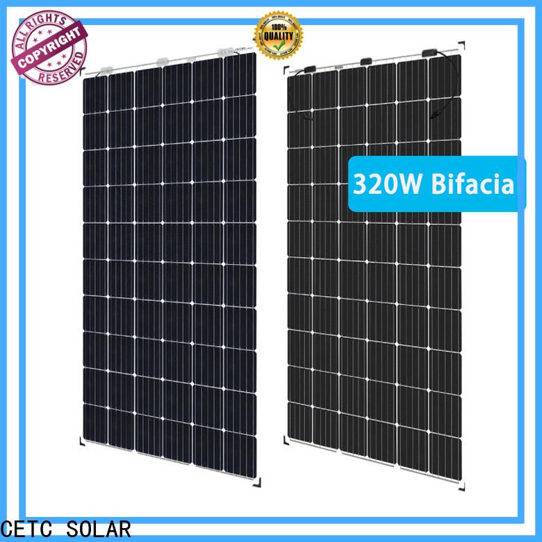 CETC SOLAR bifacial solar panels manufacturers