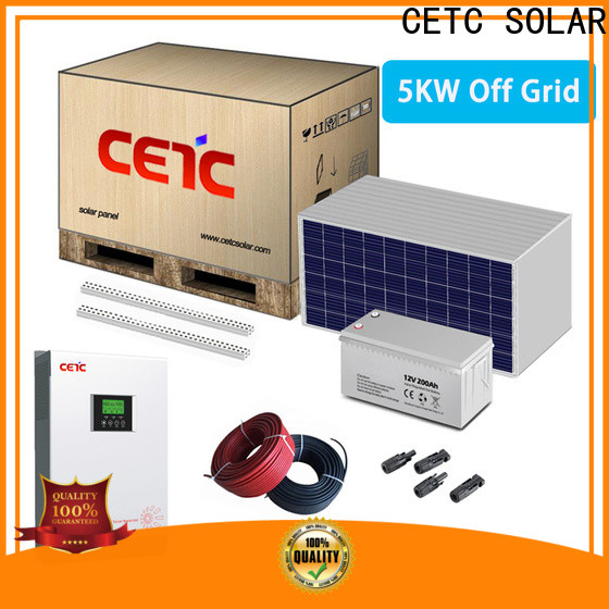 CETC SOLAR wholesale off grid solar system manufacturers for business