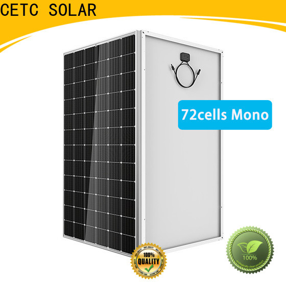CETC SOLAR latest monocrystalline solar cell company for home