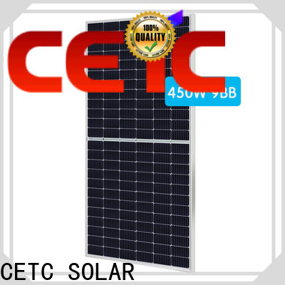 CETC SOLAR best half cell panel with certification for home
