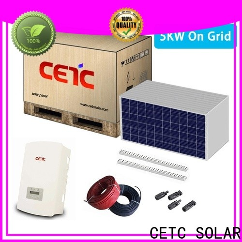 best on grid solar system factory for home