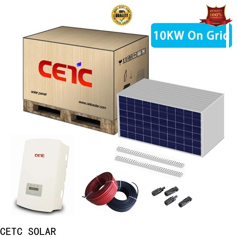 CETC SOLAR new solar power system on grid supply for home