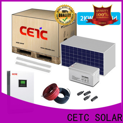 CETC SOLAR factory price best off grid solar system company for home