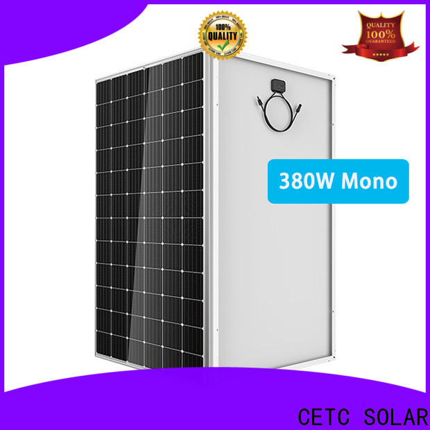 CETC SOLAR ground monocrystalline silicon solar panels suppliers for industry