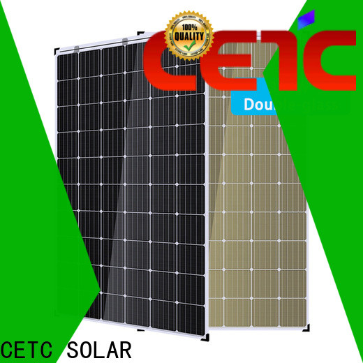 CETC SOLAR good selling double glass solar modules for business for greenhouse