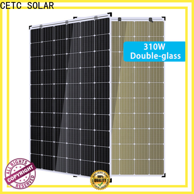 CETC SOLAR dual glass solar module for business for greenhouse