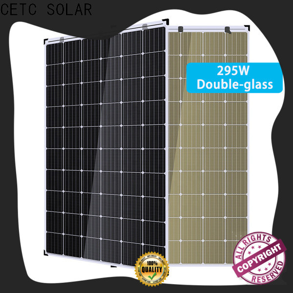 CETC SOLAR no frame double glass solar modules company for home