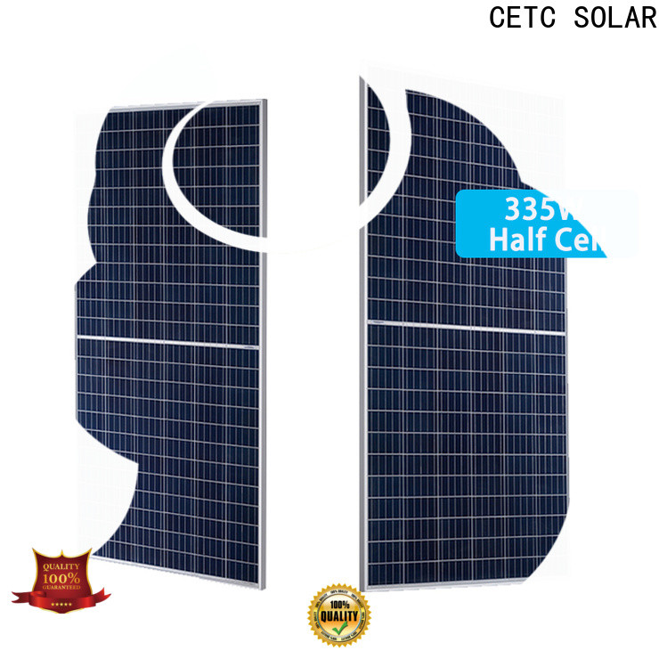 CETC SOLAR half cut module supply for business