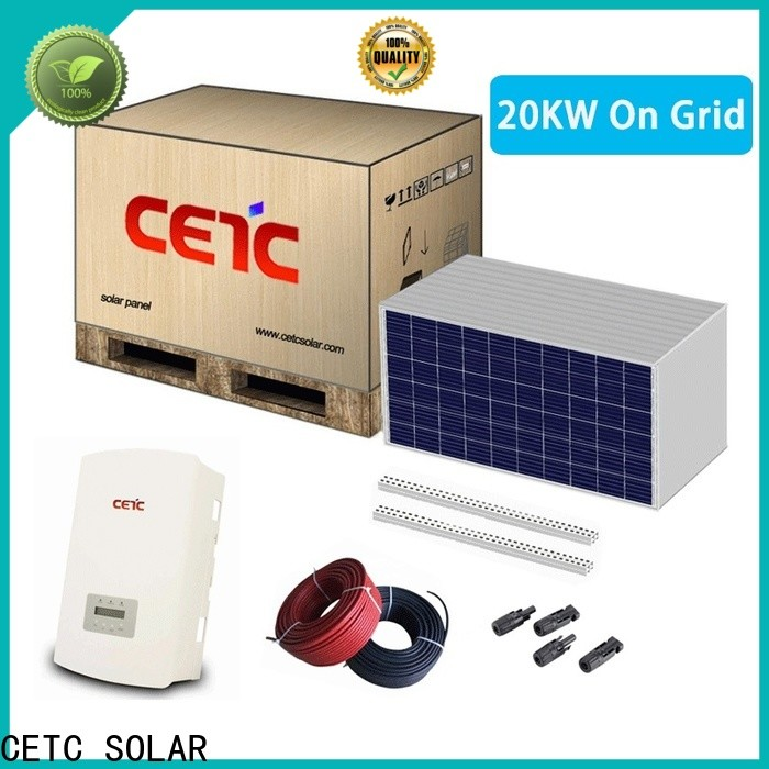 CETC SOLAR new on grid solar system company for home