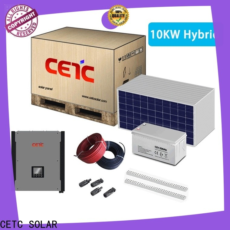 CETC SOLAR best hybrid solar system factory for sale