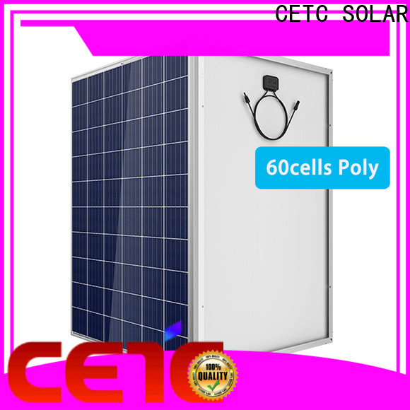 CETC SOLAR best polycrystalline silicon solar panels with certificate for company