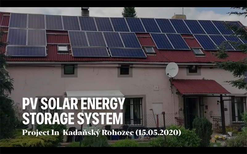 Czech Home-used solar system with Poly solar panel