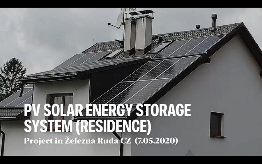 Czech Home-used solar system with Mono solar panel