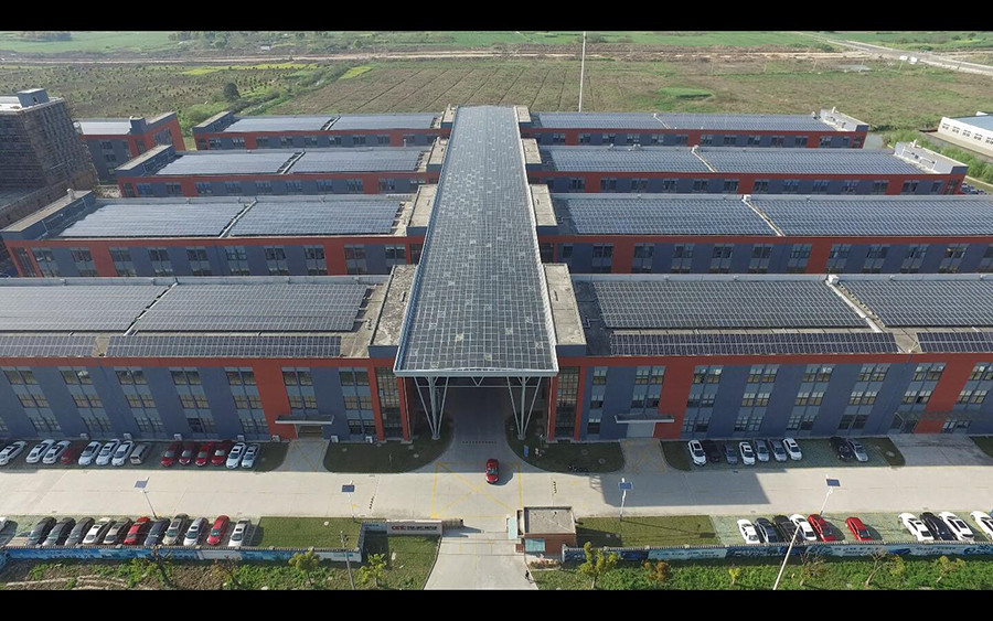 CETCSolar company roof solar system