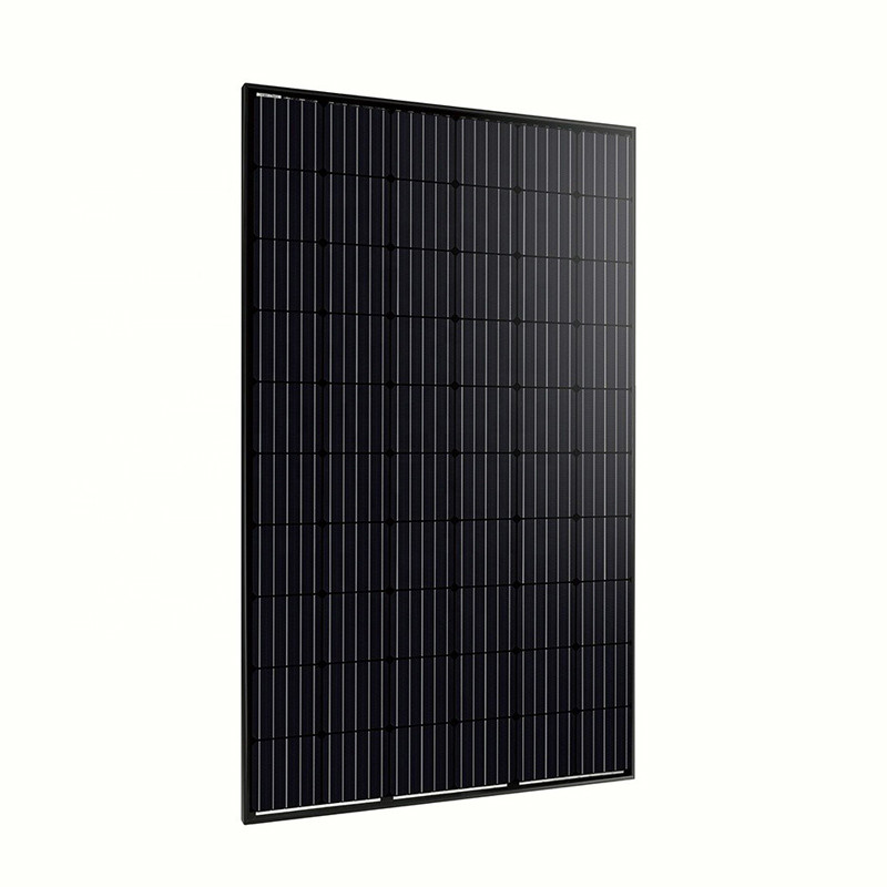 320W All black mono solar panel good quality performance
