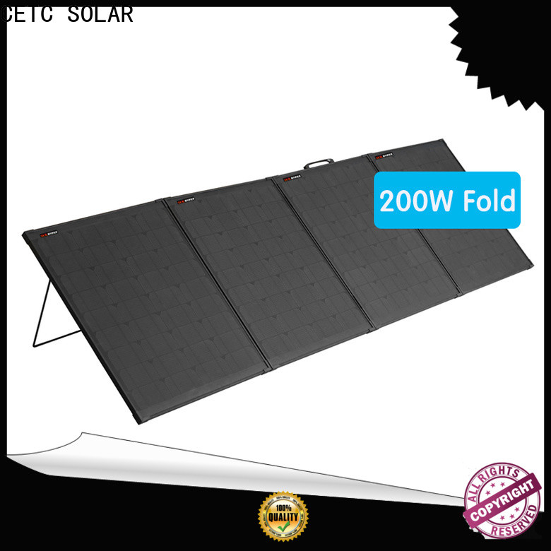 CETC SOLAR high-quality best folding solar panels manufacturers for ouotdoor activity