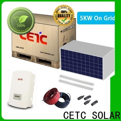 CETC SOLAR latest on grid solar system company for home
