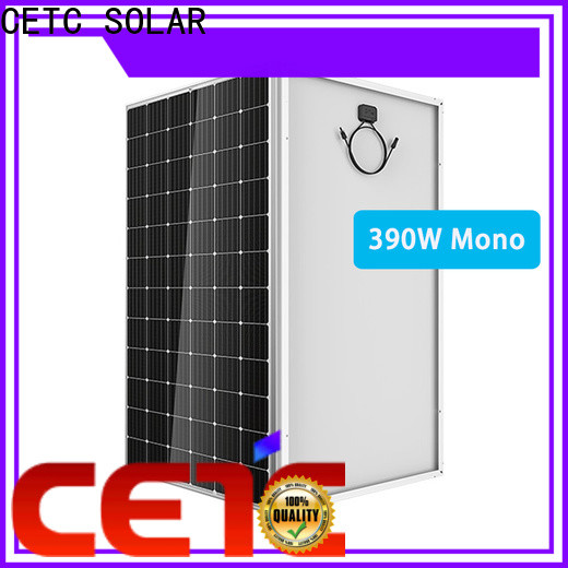 CETC SOLAR ground monocrystalline solar cell install for factory
