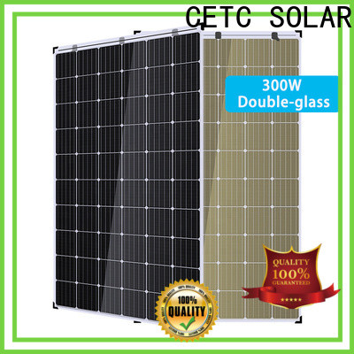 high-quality double glass solar modules factory for outdoor energy
