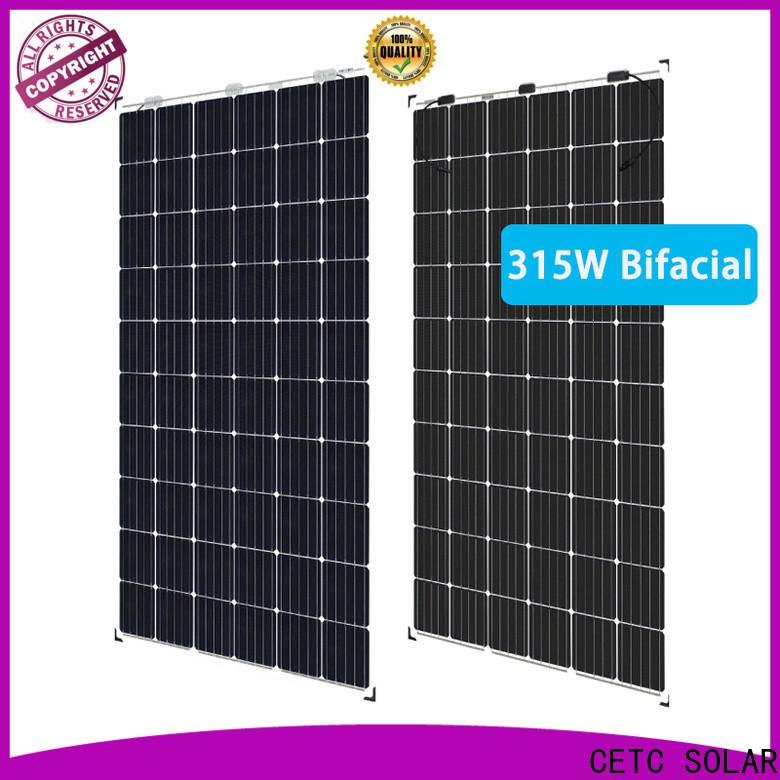 CETC SOLAR bifacial photovoltaic panels manufacturers for sale