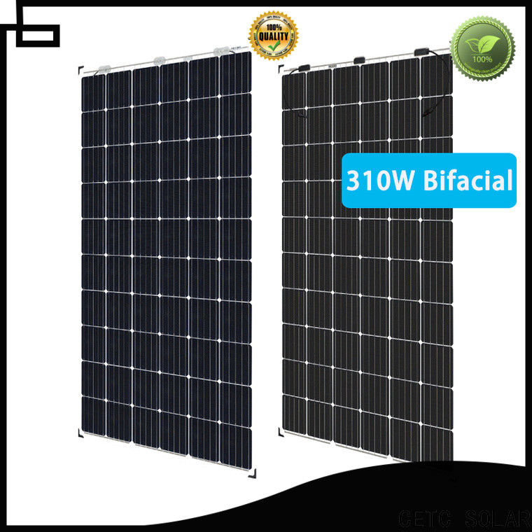 CETC SOLAR best bifacial solar panel company for industry