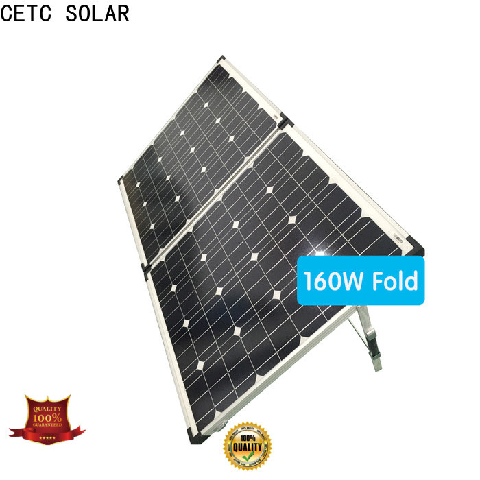 CETC SOLAR fold solar panel charger for ouotdoor activity