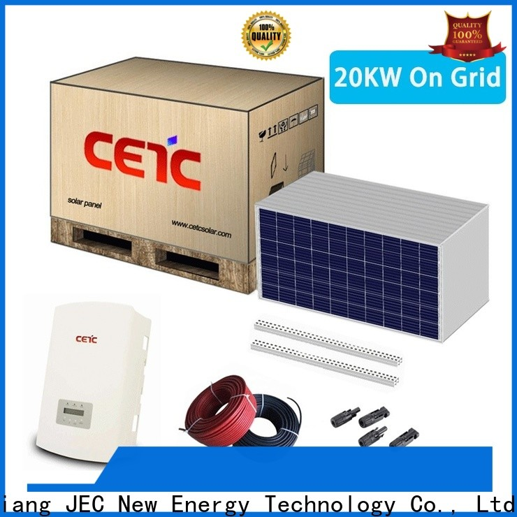 CETC SOLAR solar system on grid supply for business