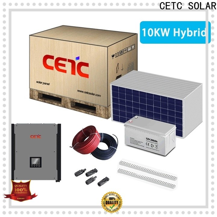 CETC SOLAR factory price hybrid solar system company for sale