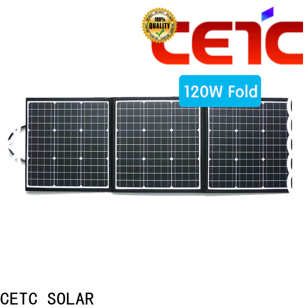 CETC SOLAR foldable solar panel with battery for business