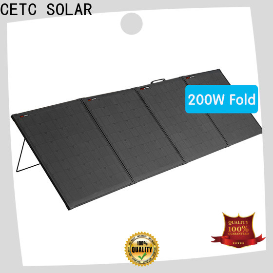 CETC SOLAR popular fold solar panel supply for business