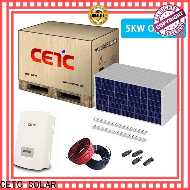 CETC SOLAR best solar system on grid company for home