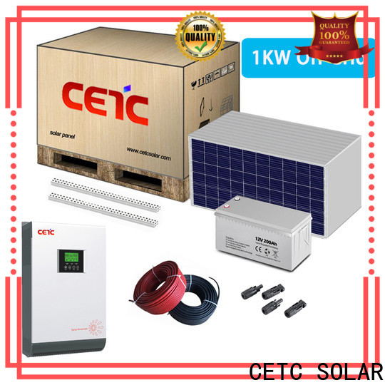 professional off grid solar system factory for home