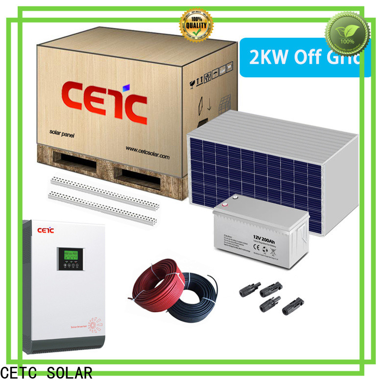 CETC SOLAR off grid solar system factory for home