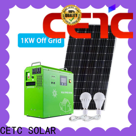 CETC SOLAR wholesale best off grid solar system with battery storage for business