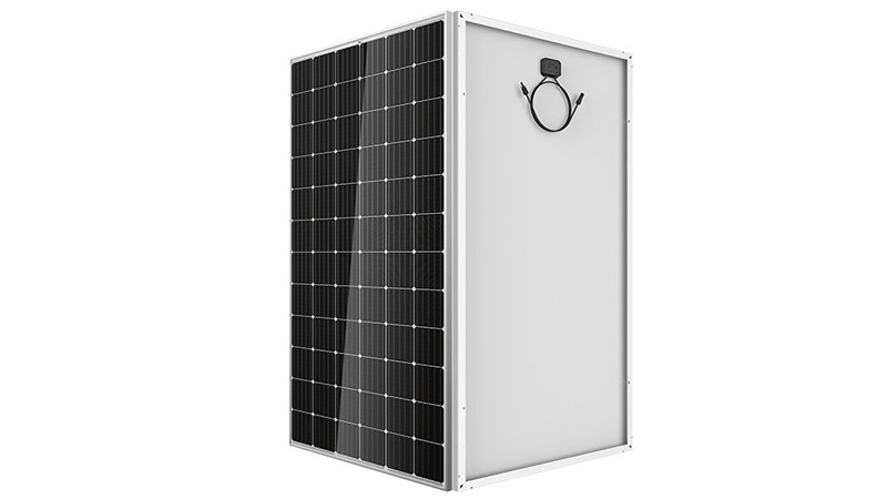 CETCSolar Mono solar panel with 72cells details display video