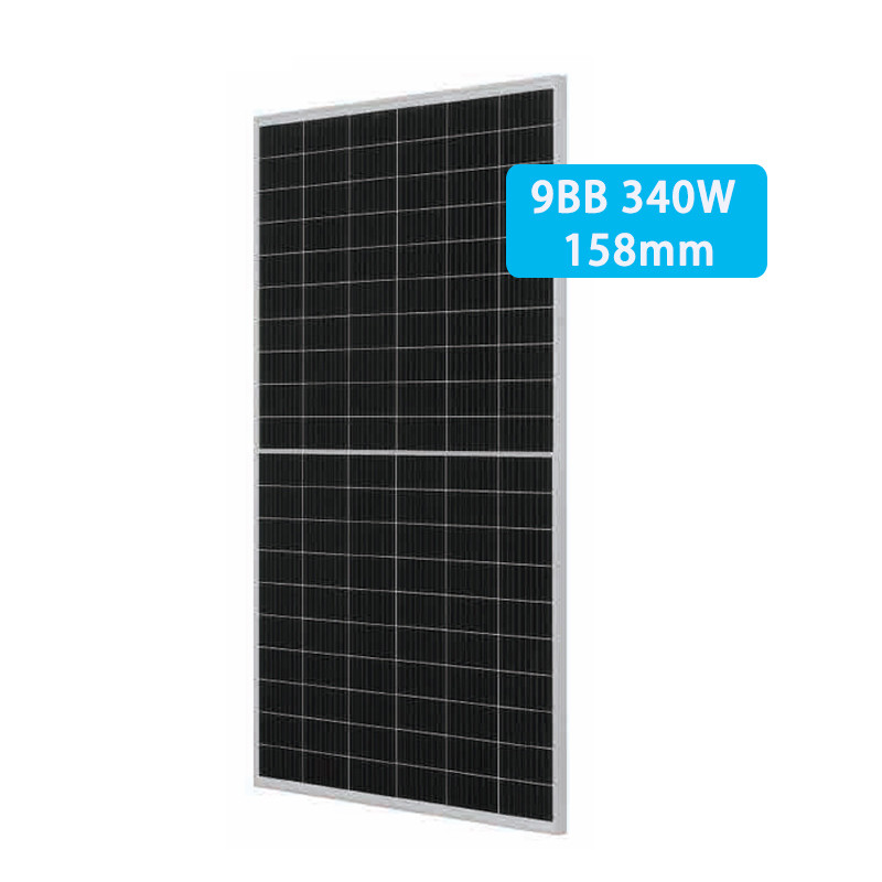 Monocrystalline half cell solar panel 320-340W with 158size 120cells