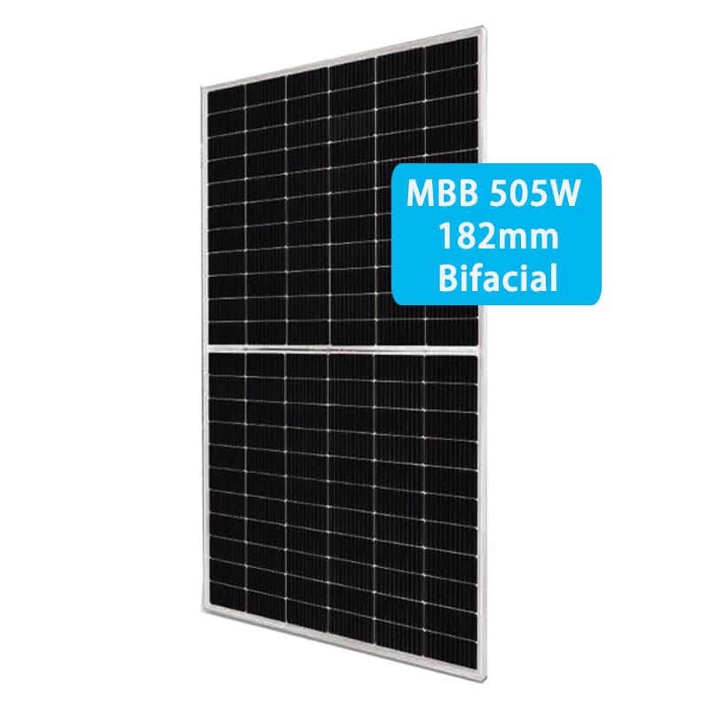 CETCSOLAR bifacial 480-505W half 132pcs Double Glass Bifacial panel power photovoltaic module