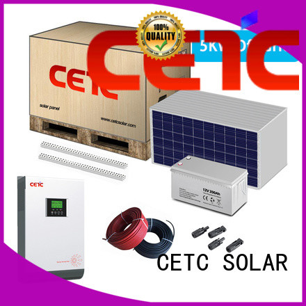 CETC SOLAR off grid solar system with battery storage for business
